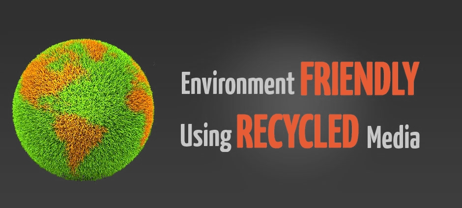 environment freindly recycled media blasting